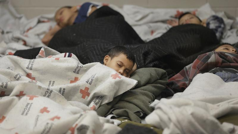 What happens to migrant children after the Border Patrol detains them?