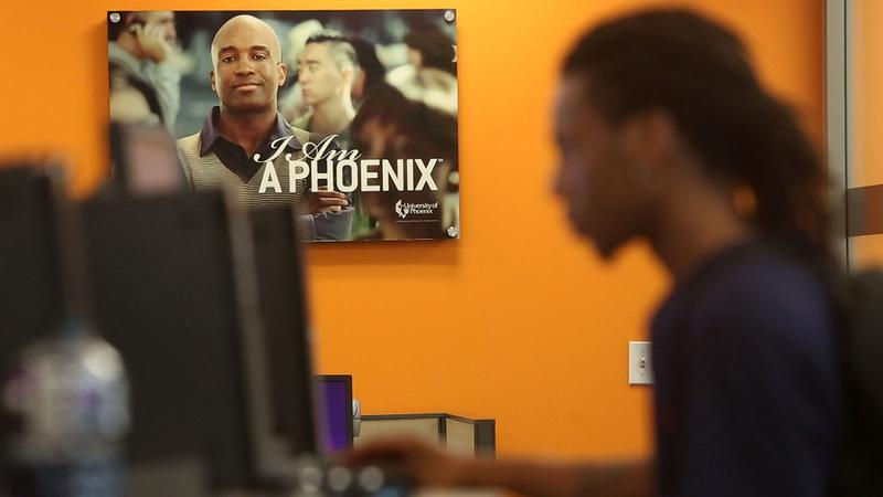 GI bill - University of Phoenix poster